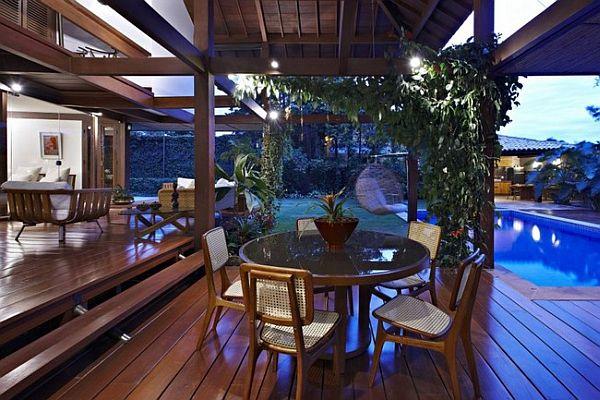 Thiết kế biệt thự tuyệt đẹp có bể bơi ngoài trời ở Brazil 4