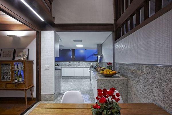 Thiết kế biệt thự tuyệt đẹp có bể bơi ngoài trời ở Brazil 6