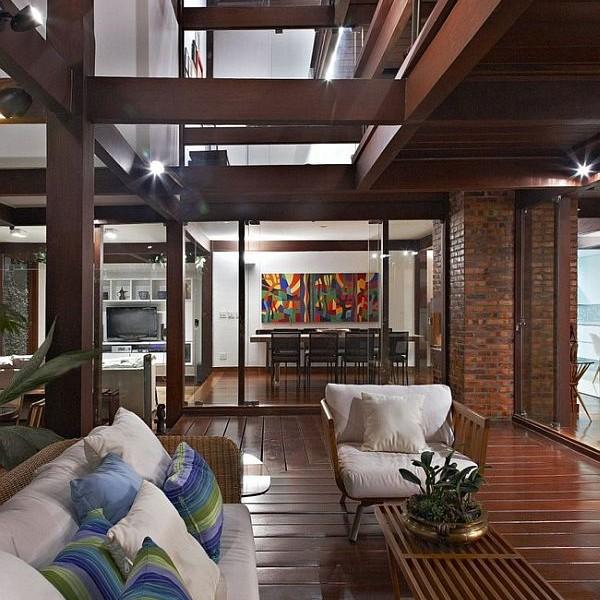 Thiết kế biệt thự tuyệt đẹp có bể bơi ngoài trời ở Brazil 7