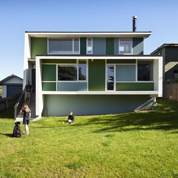 Thiết kế biệt thự tuyệt đẹp nhìn ra biển ở New Zealand 2