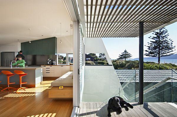Thiết kế biệt thự tuyệt đẹp nhìn ra biển ở New Zealand 3