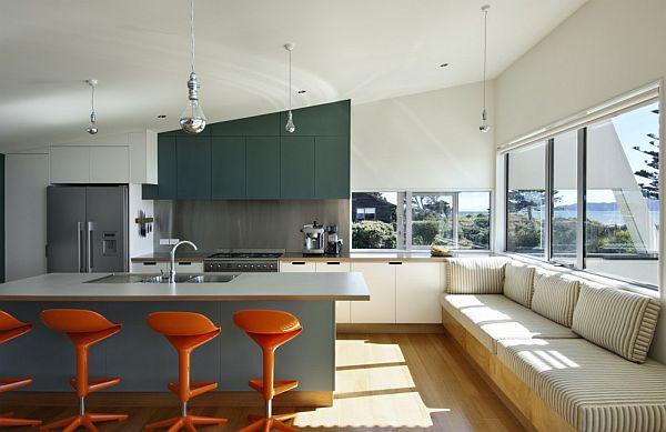 Thiết kế biệt thự tuyệt đẹp nhìn ra biển ở New Zealand 5