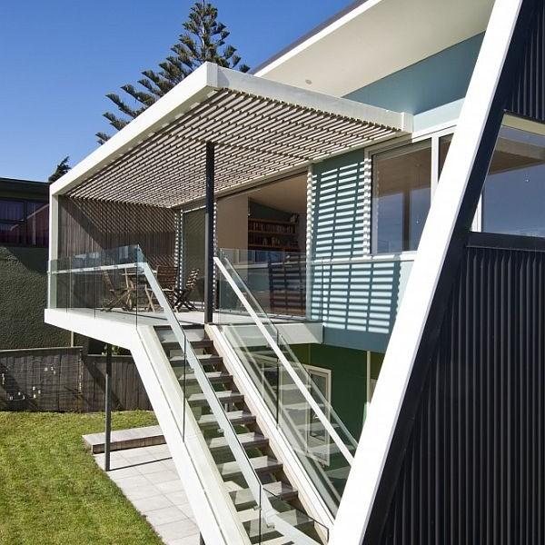Thiết kế biệt thự tuyệt đẹp nhìn ra biển ở New Zealand 6
