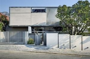Thiết kế nhà phố 1 trệt 1 lầu ở Nam Phi