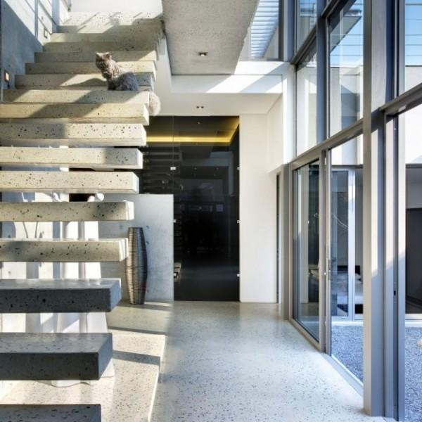 Thiết kế nhà phố 1 trệt 1 lầu ở Nam Phi 5