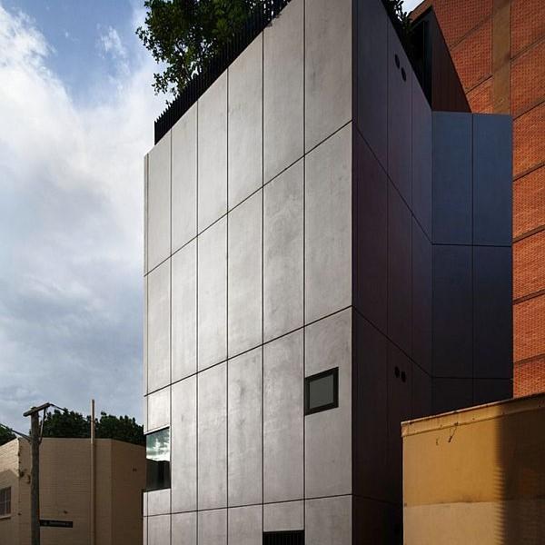 Thiết kế nhà phố 80m2 2 mặt tiền ở Australia 2