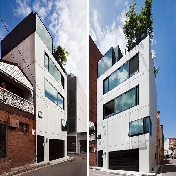 Thiết kế nhà phố 80m2 2 mặt tiền ở Australia 3