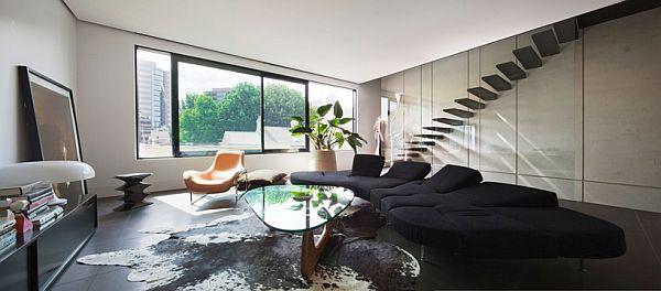 Thiết kế nhà phố 80m2 2 mặt tiền ở Australia 4