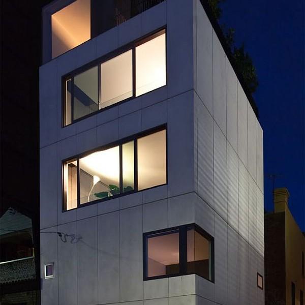 Thiết kế nhà phố 80m2 2 mặt tiền ở Australia