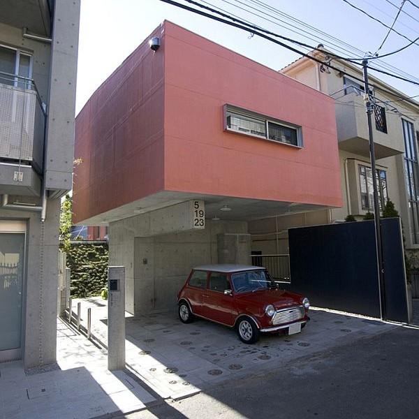 Thiết kế nhà phố 80m2 đẹp ở Tokyo