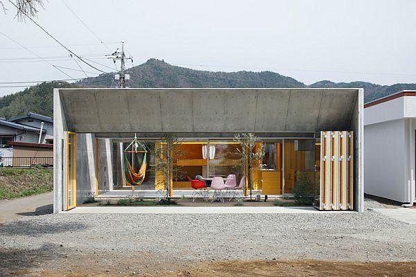 Thiết kế nhà phố có không gian tươi mát ở Nhật Bản 3