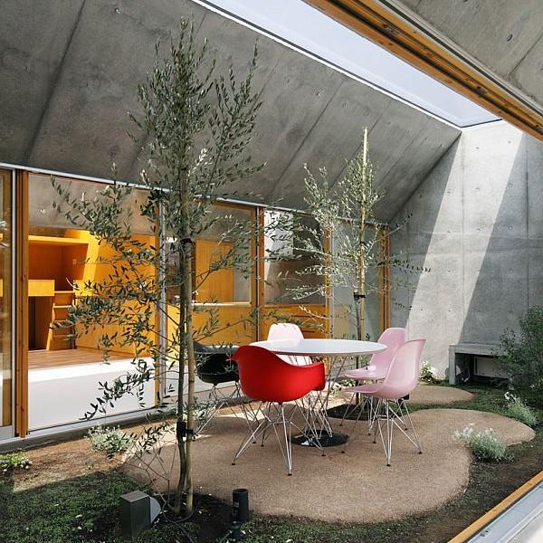 Thiết kế nhà phố có không gian tươi mát ở Nhật Bản 4