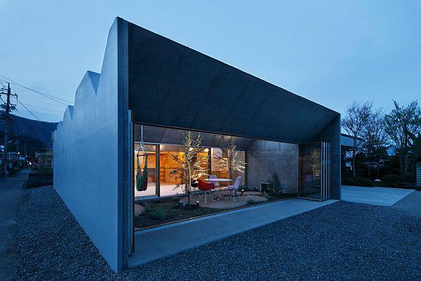 Thiết kế nhà phố có không gian tươi mát ở Nhật Bản 7