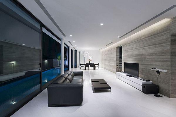 Thiết kế nhà phố đẹp mê hồn ở Singapore 6