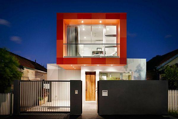 Thiết kế nhà phố độc đáo hiện đại tại Úc 2