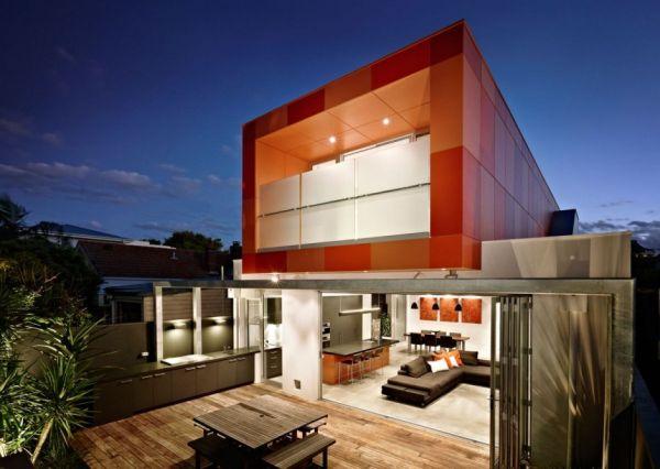 Thiết kế nhà phố độc đáo hiện đại tại Úc