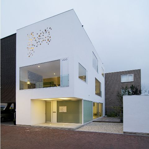 Thiết kế nhà phố độc đáo hình bát giác ở  Hà Lan