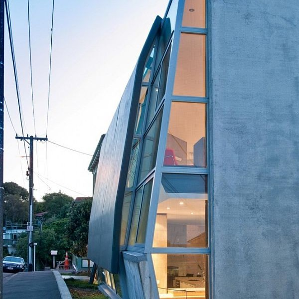 Thiết kế nhà phố độc và kì lạ ở New Zealand 2