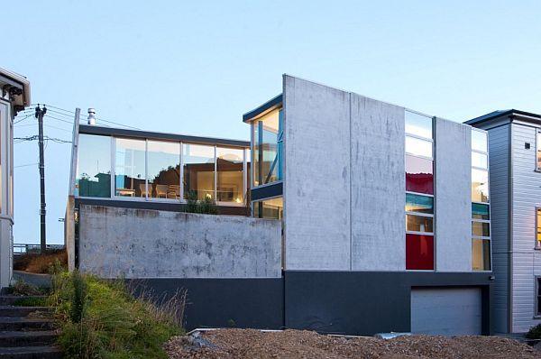 Thiết kế nhà phố độc và kì lạ ở New Zealand 3