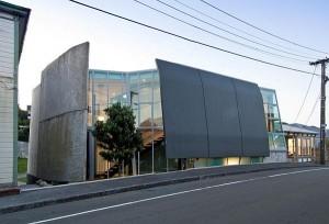 Thiết kế nhà phố độc và kì lạ ở New Zealand