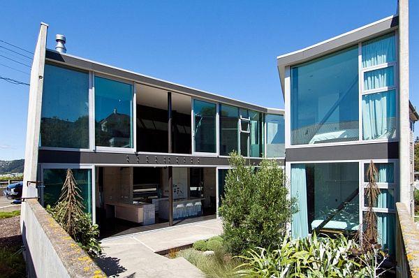 Thiết kế nhà phố độc và kì lạ ở New Zealand 4