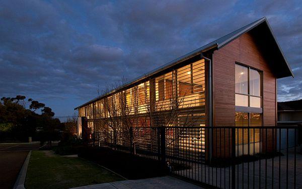 Thiết kế nhà phố hiện đại và đáng yêu ở Perth