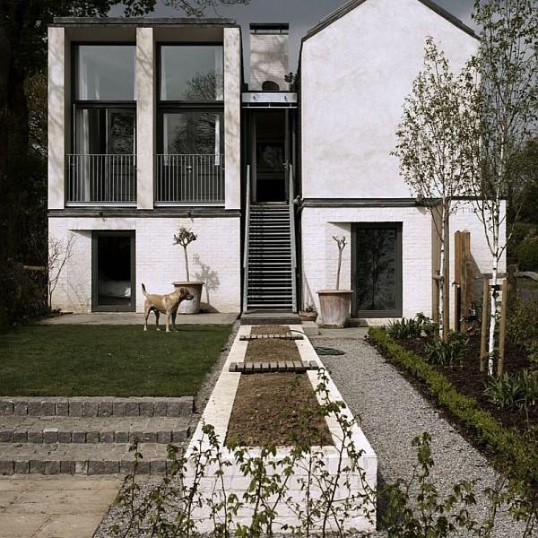 Thiết kế nhà phố nhỏ đơn giản ở Anh 3