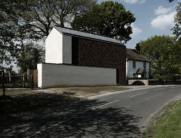 Thiết kế nhà phố nhỏ đơn giản ở Anh