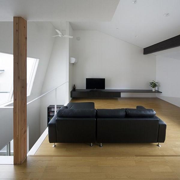 Thiết kế nhà phố sang trọng bằng gỗ ở Nhật Bản 4