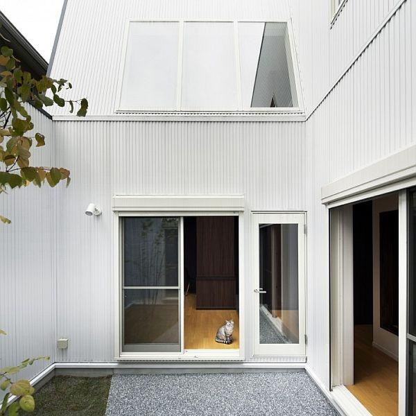 Thiết kế nhà phố sang trọng bằng gỗ ở Nhật Bản 5