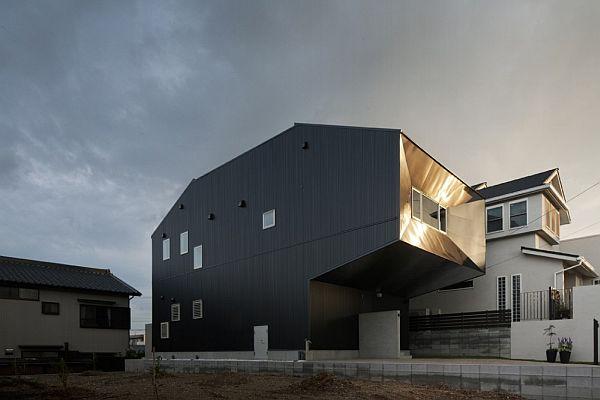 Thiết kế nhà phố sang trọng bằng gỗ ở Nhật Bản