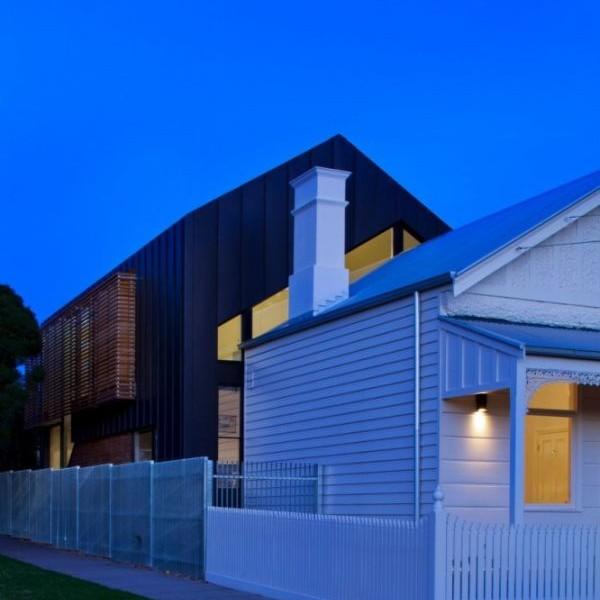 Mẫu nhà phố có cấu trúc độc đáo ở Úc 2