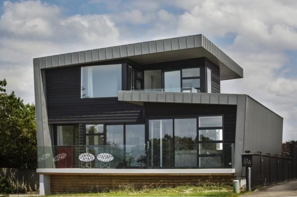 Biệt thự hình chữ L kiến trúc hiện đại 2