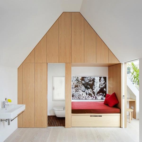 Biệt thự kiến trúc hiện đại bao bọc bằng thép 7