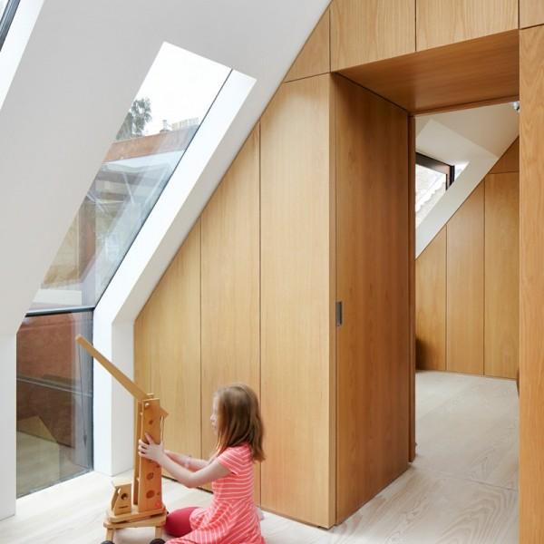 Biệt thự kiến trúc hiện đại bao bọc bằng thép 8