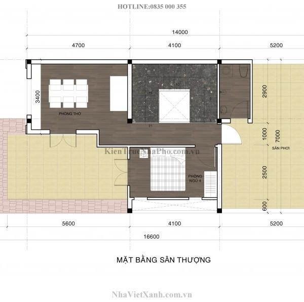 Thiết kế biệt thự 3 tầng tại Bình Dương 6